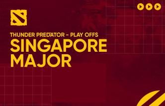 Dota | Highlights - Thunder Predator Singapore Major (Playoffs)