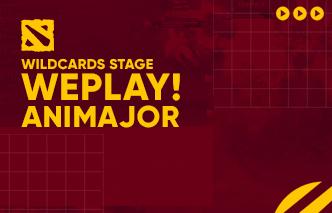 WePlay AniMajor - Wildcards
